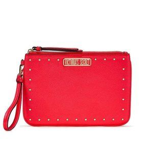 VS Studded Night Out Wristlet Bag Red